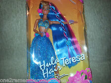 HULA HAIR TERESA 1996 Mattel BARBIE DOLL FRIENDS Beach Day AGES 3+ Vintage NEW
