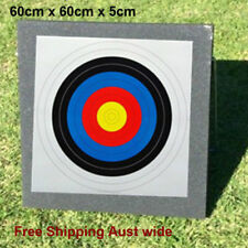 Archery Target 60X60X5cm High Density XPE Foam Self Healing Practice Accessory