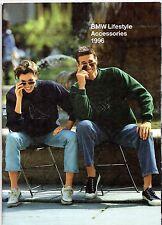 BMW Lifestyle Accessories Branded Merchandise 1995-96 UK Market Sales Brochure