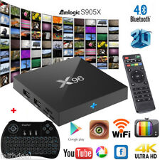 X96 Smart TV Box 1GB/8GB+2GB/16GB Android 6.0 S905X 4K HD QuadCore +Mini Teclado
