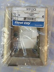 T&B Steel City P 641P-CACB Brass plate activation kit NOS