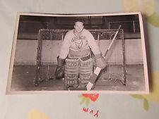 Original Pete BELANGER Harringay Racers 1950's Ice Hockey Photo