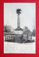 AK WILSNACK 1900 Kriegerdenkmal    ( 23363