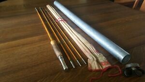 Shakespeare Bamboo Fly Rod 2358 - 8 1/2'  - NICE!