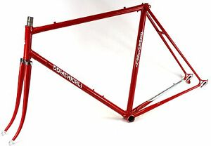 VINTAGE Race bike Domenicali steel Lugged hand made in Italy Frame set
