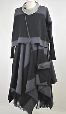 STUNNING BORIS INDUSTRIES LAGENLOOK PARACHUTE DRESS/JACKET/BAG SET SZ L/XL fab