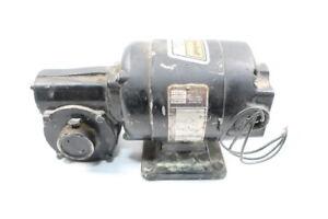 Bodine NPP-34RH Gearmotor 173rpm 3ph 1/15hp 230/460v-ac