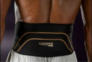 Copper BACK Pro Brace Waist L/xl or small medium