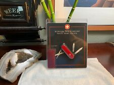 VINTAGE Wenger Red Esquire #16740 Swiss Army Knife RARE Factory Sealed BRAND NEW