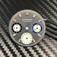 Vintage Eterna Chrono Valjoux 72 chronograph dial