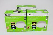 Commercial Electric Flush Mount LED Light Lot Of 3