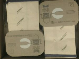 24 Bags for Electrolux Canister Vacuum Style C ~ 4 PLY ~ MADE IN USA !!