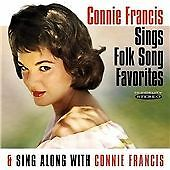 Connie Francis : Sings Folk Song Favorites/Sing Along With Connie Francis CD