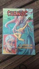 """VTG 1975 MEXICAN COMIC CHANOC # 801 """"EL TESORO DE CABO CANGREJO"""" ED. HERRERIAS"""