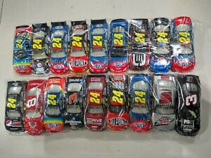 Nascar Diecast 1:64 Scale Loose Lot, Matchbox Hot Wheels, Mattel, CLEAN