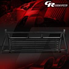 BLACK HEADACHE RACK BACK CAB WINDOW PROTECTION FRAME GUARD FOR 99-17 SILVERADO