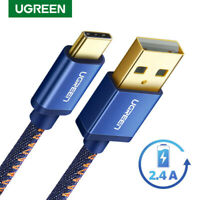 Ugreen USB C Cable Type C Fast Charging Data Charge Cable for Samsung S8 LG