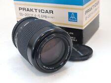 Praktica 55-200mm F4-5.6 PB Mount Zoom Lens, Boxed. Stock No u8469