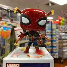"MARVEL SPIDER-MAN Tasca POP PORTACHIAVI 2 /""figura nuovo di zecca in scatola Funko"