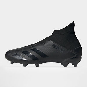 adidas Unisex Predator 20.3 Laceless Kids FG Football Boots