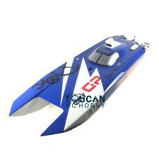 DT G30F Tiger Shark Fiber Glass Blue 70Km/h 30CC Engine Gas RC Race Boat ARTR