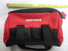 "Craftsman Red Black 12"" Wrench Screwdriver Tool Set Carry Bag NOS"