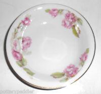 Z S & Co Bavaria Porcelain Pink Roses W/Gold Fruit Bowl! MINT