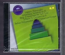 SCHOENBERG BERG WEBERN CD NEW KARAJAN (THE ORIGINALS)