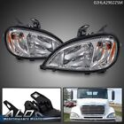 Pair Fit For 04-17 Freightliner Columbia Headlight Right Left Side Set w/ Bulbs