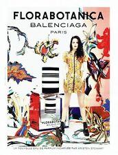 PUBLICITE ADVERTISING 027  2012   parfum Florabotanica  Balenciaga  & K Stewart