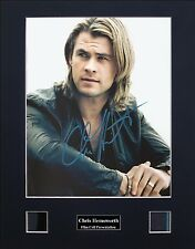 Chris Hemsworth Version 1 Signed Film Cell Presentation