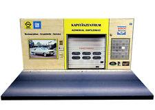 Diorama présentoir Opel - Kapitänzentrum - 1/43ème - #43-2-C-B-004