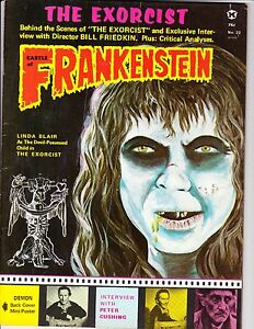 Castle of Frankenstein  #22 (FN  6.0) 1974,  Gothic Castle Publ.