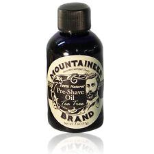 Mountaineer Brand® Pre-Shave Oil (Tea Tree), 2 oz