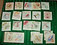 Vintage NOS 1940-50's Beach Products,Inc. Boxed Paper Cocktail Napkins - Qty 106