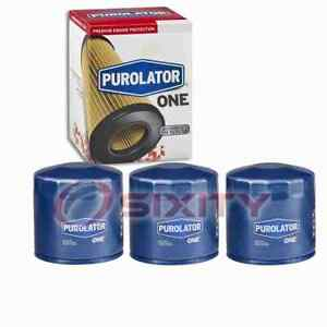 3 pc PurolatorONE PL14670 Engine Oil Filters for Oil Change Lubricant ph