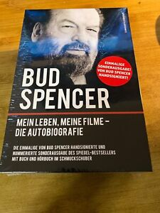 Bud Spencer - Mein Leben, meine Filme Autobiografie handsigniert Autogramm Buch