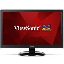 ViewSonic VA2465S-3 schwarz LED-Monitor 24 Zoll Full HD VGA DVI
