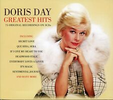 DORIS DAY GREATEST HITS - 3 CD BOX SET - SECRET LOVE, IT'S MAGIC & MANY MORE
