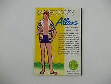 Vintage 1963 Skipper Allan Doll Fashion Booklet Mini-Catalog Pamphlet Brochure A