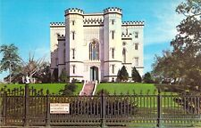1959-64 LA Baton Rouge OLD STATE CAPITOL BUILDING Built 1882 postcard C2