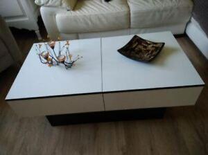 Amelie Table Basse-Blanc