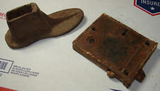 Cobblers Childs shoe tool and Vintage Skeleton Key Latch Lot