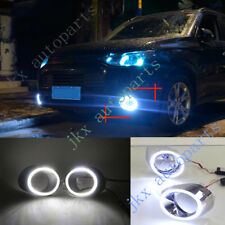 2x LED DRL Lights With Turn Signal Kit Refit For Mitsubishi Outlander 13-14 k
