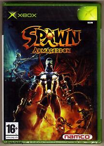 Xbox Spawn Armageddon ( 2004 1st Print) UK Pal, Factory Sealed, Mint