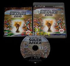MONDIALI FIFA SUD AFRICA 2010 Ps3 Versione Italiana 1ª Edizione ••••• COMPLETO