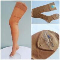 Vintage CC41 Stockings 1940s WW2 Era Seamed Pure Silk Utility Mark Unused Ladies