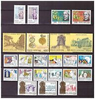 s15548) VATICANO MNH** 1984 Complete Year set 23v