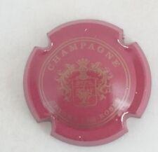 capsule champagne GARDET n°2 sans nom bordeaux et or