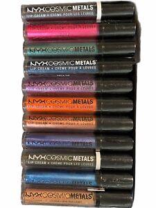 NYX Cosmic Metals Lip Cream *YOU CHOOSE* 1 2 3 4 5 6 8 9 11 12 13